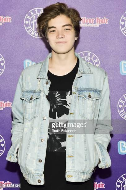Matt Sato attends Hayden Summerall's 13th Birthday Bash at Bardot on April 15 2018 in Hollywood California