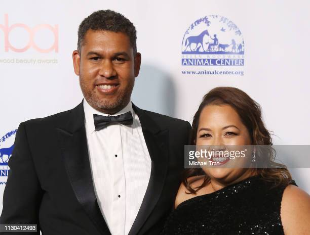 Matt Sayles and Karla Sayles attend the 2019 Hollywood Beauty Awards held at Avalon Hollywood on February 17 2019 in Los Angeles California