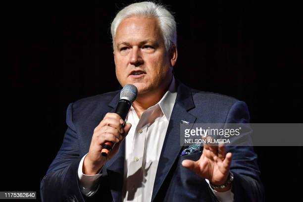 Matt Schlapp, chairman of the American Conservative Union, speaks during the Conservative Political Action Conference , in Sao Paulo, Brazil, on...