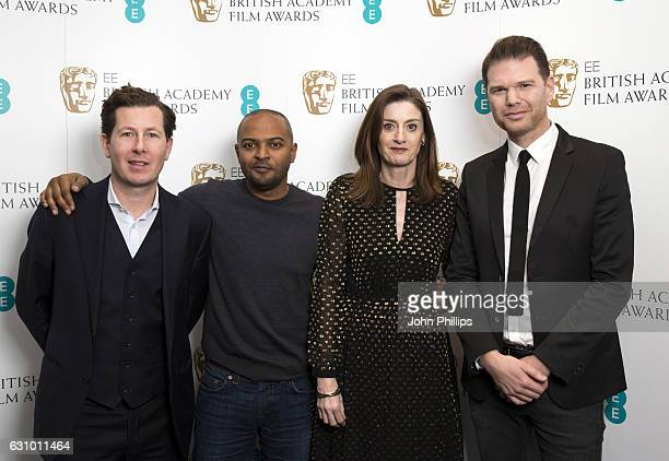Matt Sears Noel Clarke Amanda Berry and James king attend the nominations announcement for EE Rising Star Award at BAFTA on January 5 2017 in London...