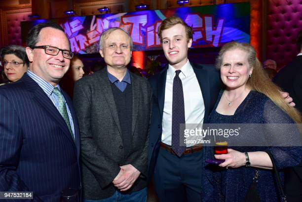 Matt Sennett Laszlo Santha Alexander Sennett and Beth Sennett attend NYU Tisch School of the Arts GALA 2018 at Capitale on April 16 2018 in New York...