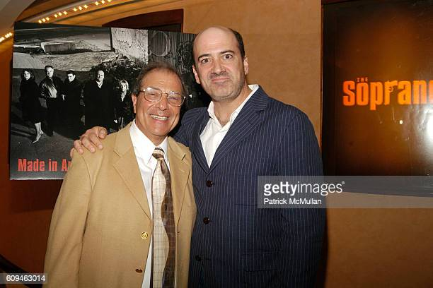 Matt Servitto and Dan Grimaldi attend HBO Screening for the Series Finale of THE SOPRANOS at 1100 6th Ave on June 10 2007 in New York City