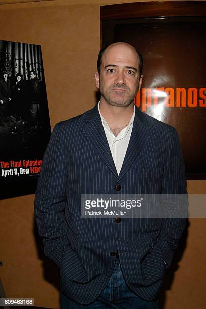 Matt Servitto attends HBO Screening for the Series Finale of THE SOPRANOS at 1100 6th Ave on June 10 2007 in New York City