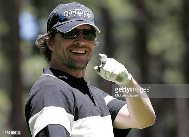 Matt Settle during American Century Celebrity Golf Championship July 16 2006 at Edgewood Tahoe Golf Course in Lake Tahoe California United States