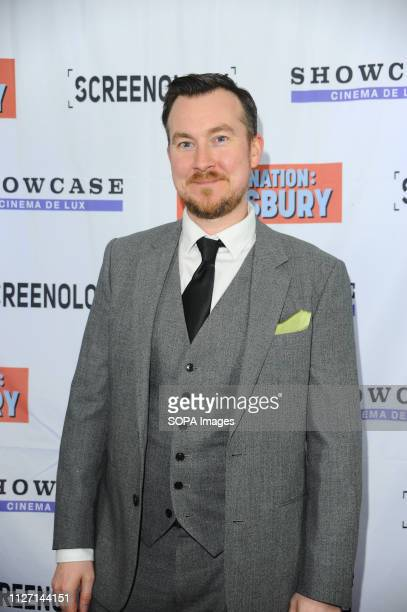 Matt Sheahan seen during the Destination Dewsbury UK premiere A premiere of a new British comedy about five friends who reunite for one last road...