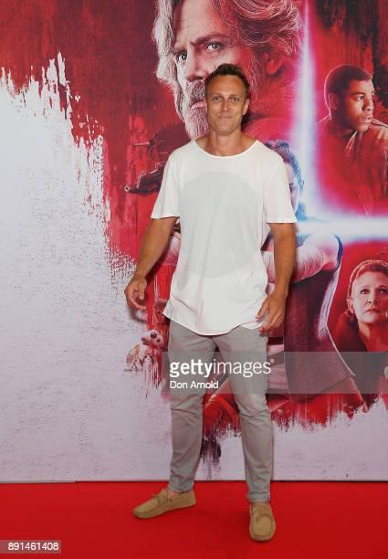 Matt Shirvington attends Star Wars The Last Jedi Sydney Screening Event on December 13 2017 in Sydney Australia