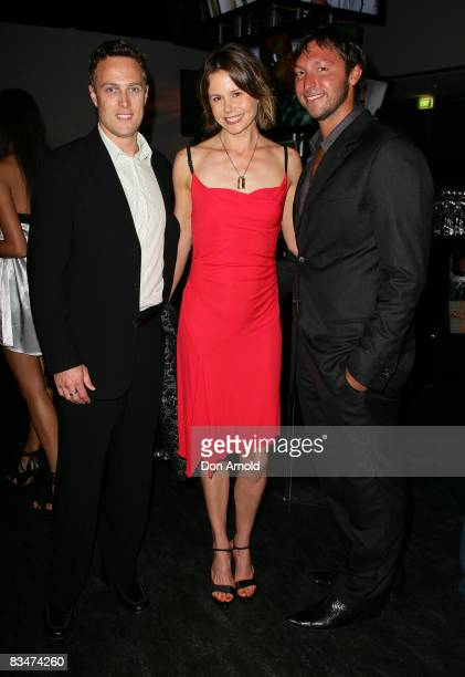 Matt ShirvingtonAntonia Kidman and Ian Thorpe attends the 2009 MCN Upfront party celebrating upcoming programming available on FOXTEL via the Multi...