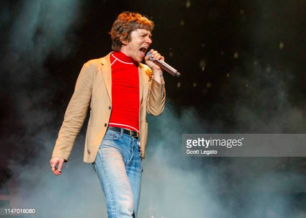 Matt Shultz of Cage The Elephant performs during day 2 of Shaky Knees Music Festival at Atlanta Central Park on May 03, 2019 in Atlanta, Georgia.