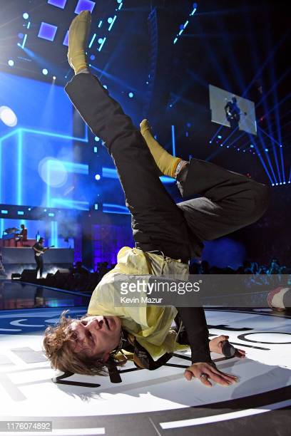 Matt Shultz of Cage The Elephant performs onstage during the 2019 iHeartRadio Music Festival at T-Mobile Arena on September 20, 2019 in Las Vegas,...