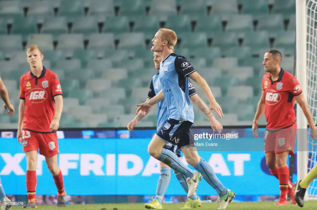 A-League Rd 26 - Sydney v Adelaide : News Photo
