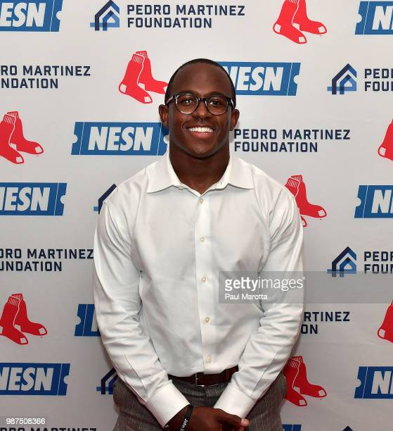 Matt Slater attends the Pedro Martinez Charity Feast With 45 at Fenway Park on June 29 2018 in Boston Massachusetts