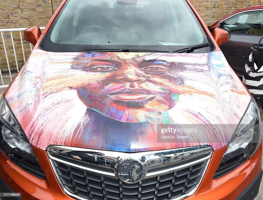 Matt Small Bonnet Auctioned For Charity At The Vauxhall Art Car Boot
