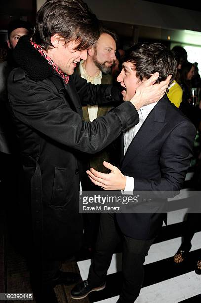 Matt Smith and Craig Roberts attend the InStyle Best Of British Talent party in association with Lancome and Avenue 32 at Shoreditch House on January...