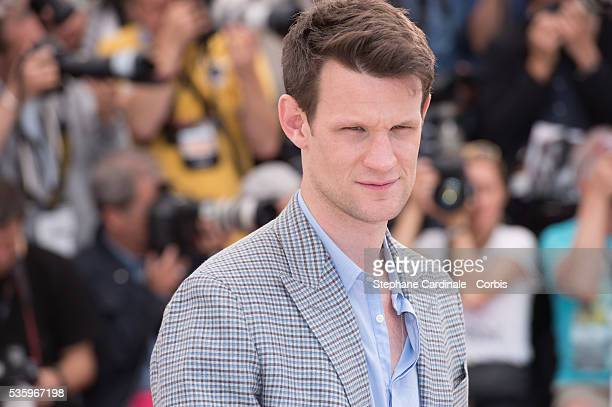 Matt Smith at the 'Lost River' photocall during the 67th Cannes Film Festival