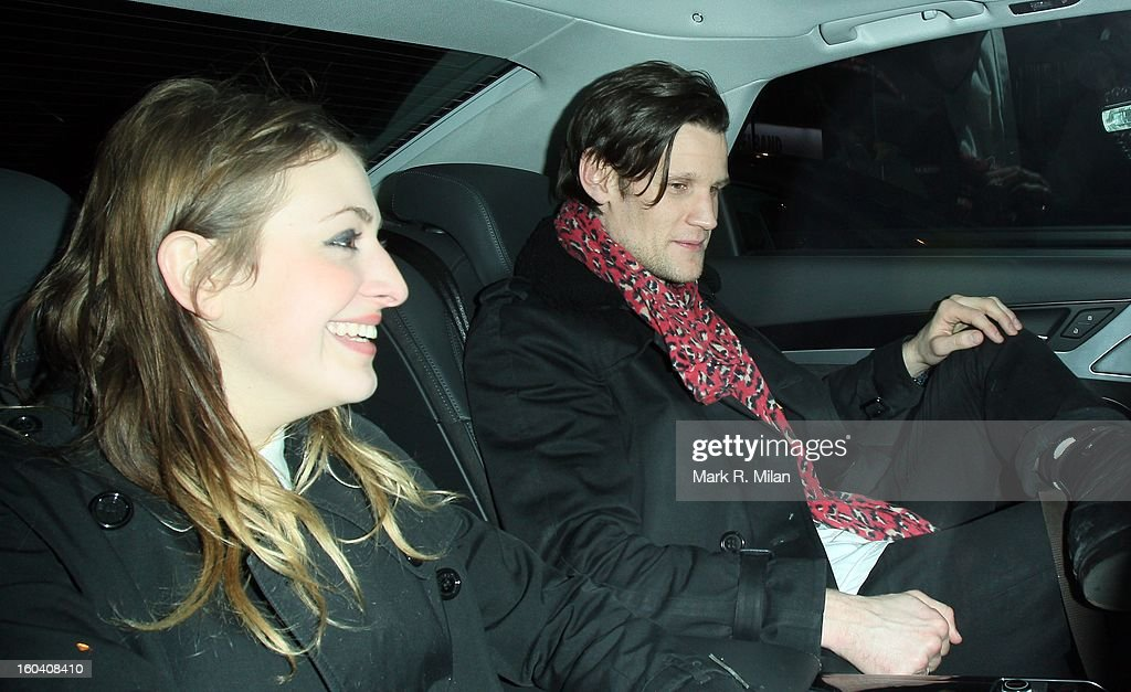 Matt Smith attending the InStyle Best of British Talent party held at Shoreditch House on January 30, 2013 in London, England.