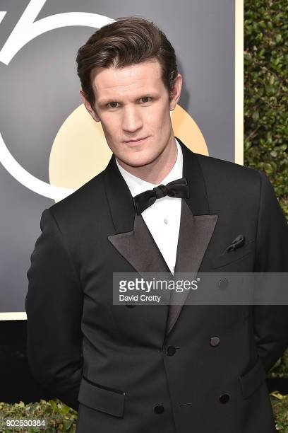 Matt Smith attends the 75th Annual Golden Globe Awards Arrivals at The Beverly Hilton Hotel on January 7 2018 in Beverly Hills California