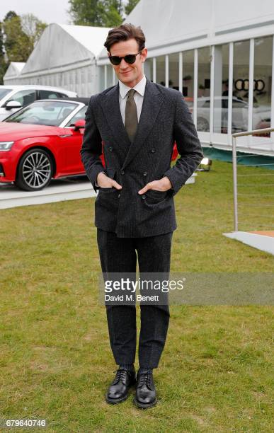 Matt Smith attends the Audi Polo Challenge at Coworth Park on May 6 2017 in Ascot United Kingdom