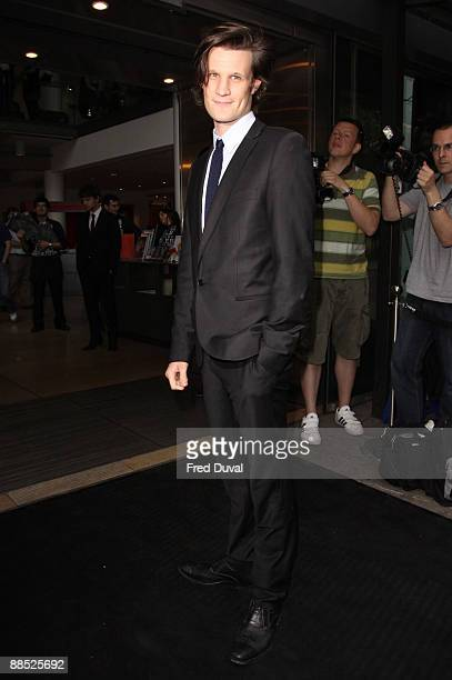 Matt Smith attends the English National Ballet Ballets Russes at Sadler's Wells Theatre on June 16 2009 in London England