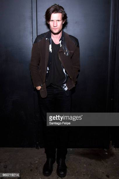 Matt Smith attends the 'Mapplethorpe' After Party at The Eagle on April 22 2018 in New York City
