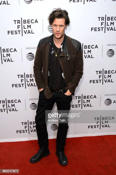 Matt Smith attends the 'Mapplethorpe' premiere during the 2018 Tribeca Film Festival at SVA Theatre on April 22 2018 in New York City