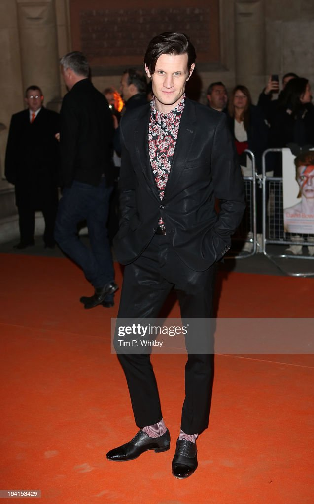 David Bowie Is - Private View - Arrivals