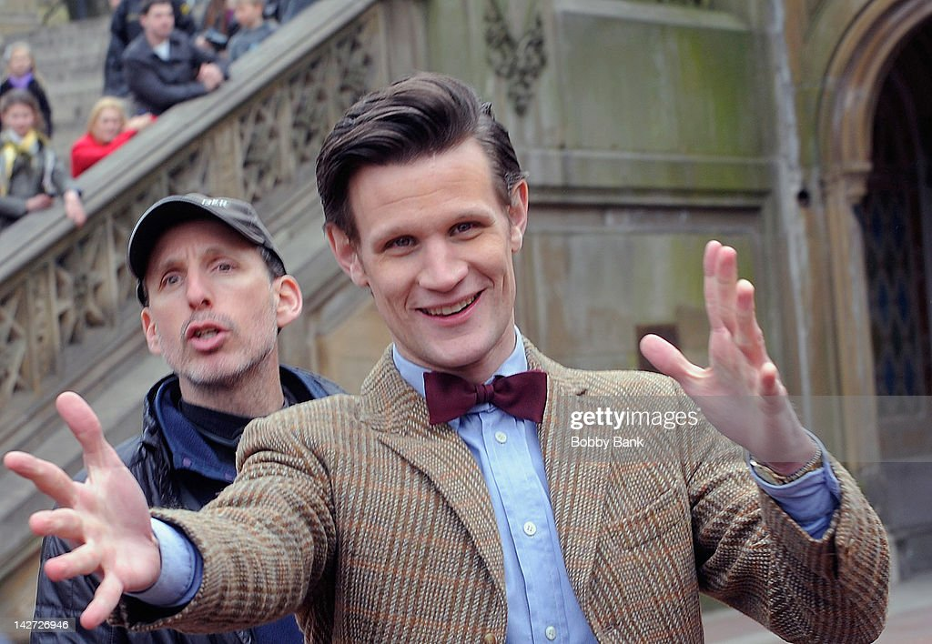 On Location For 'Doctor Who' : News Photo