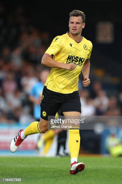 Matt Smith of Southend in action during the Pre-Season Friendly match between Southend and Millwall at Roots Hall on July 24, 2019 in Southend,...