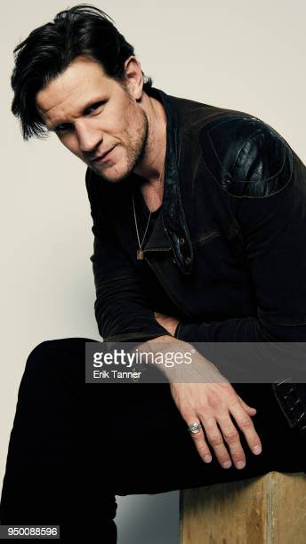 Matt Smith of the film Mapplethorpe poses for a portrait during the 2018 Tribeca Film Festival at Spring Studio on April 22 2018 in New York City