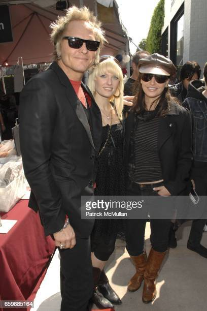 Matt Sorum Ace and Gina Gershon attend BRING YOUR HEART TO OUR HOUSE JOHN VARVATOS partners with CONVERSE for the 7th ANNUAL STUART HOUSE BENEFIT at...