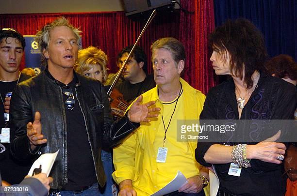 Matt Sorum, Alison Krauss, Brian Wilson and Steven Tyler