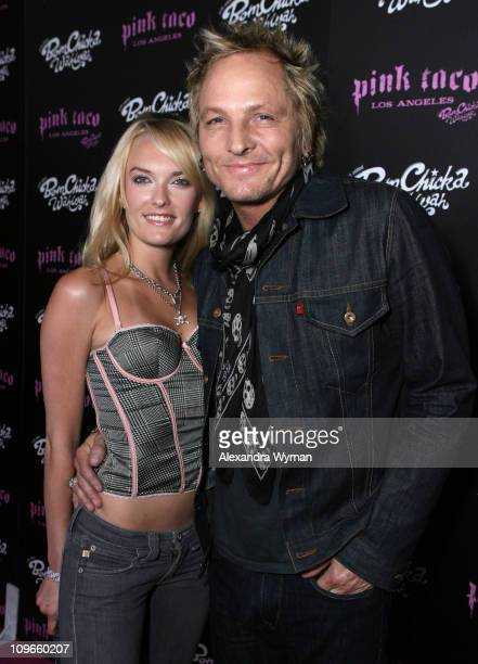 Matt Sorum and guest during Grand Opening Party for Harry Morton's Pink Taco in Century City at Westfield Century City Mall in Century City...