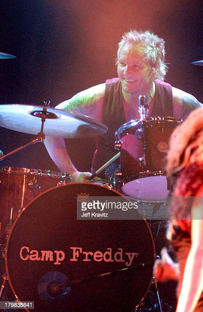 Matt Sorum during Camp Freddy Benefit Concert for South East Asia Tsunami Relief at Key Club in Hollywood California United States