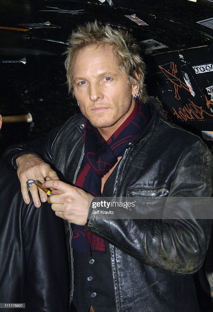 Matt Sorum of Camp Freddy during Camp Freddy Benefit Concert for South East Asia Tsunami Relief - Backstage at Key Club in Hollywood, California, United States.