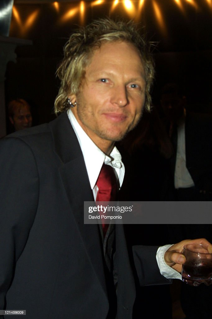 Matt Sorum of Velvet Revolver during Velvet Revolver After Party - May 26, 2004 at Hotel Gansevoort Rooftop in New York City, New York, United States.