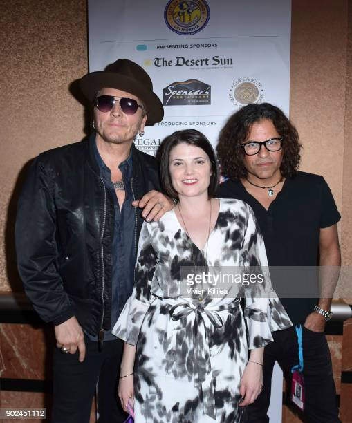 Matt Sorum programmer at the Palm Springs International Film Festival Laura Henneman and Stevie Salas attend the 29th Annual Palm Springs...