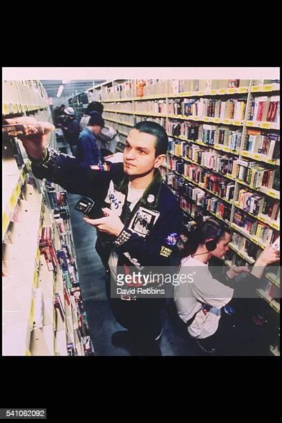 Matt Spangler alias Spanky inside the 'media cage' Amazoncom distribution center