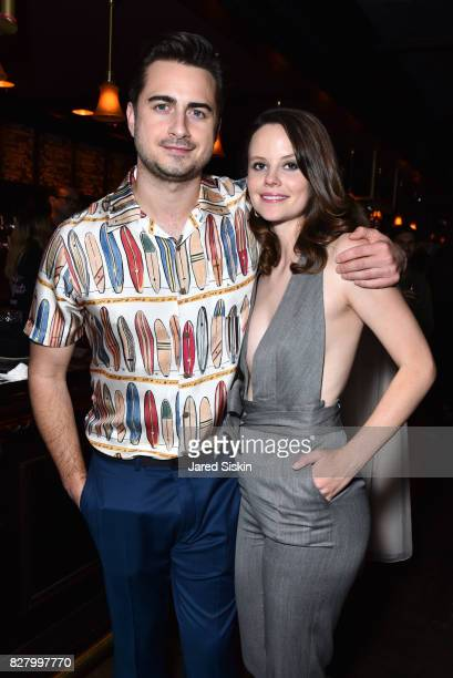 Matt Spicer and Sarah Ramos attend Neon hosts the New York Premiere of Ingrid Goes West at Alamo Drafthouse Cinema on August 8 2017 in New York City