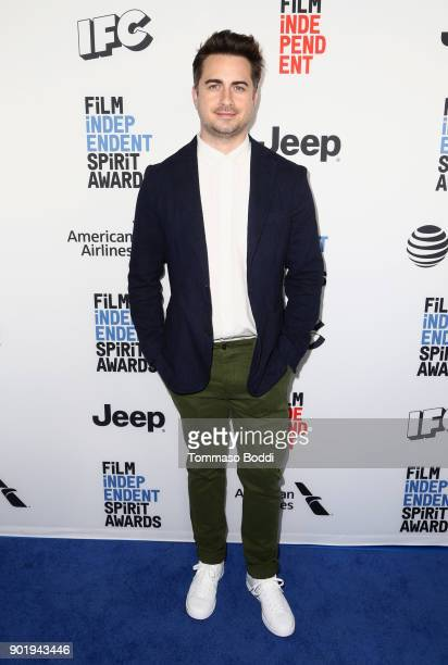 Matt Spicer attends the Film Independent Spirit Awards Nominee Brunch at BOA Steakhouse on January 6 2018 in West Hollywood California