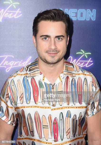 Matt Spicer attends the Neon Hosts The New York Premiere of Ingrid Goes West at Alamo Drafthouse Cinema on August 8 2017 in the Brooklyn borough of...