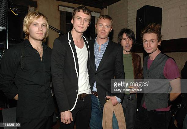 Matt Steel, Christian Langdon, Stuart Vevers, Jonny Cragg and Royston Langdon of Arckid
