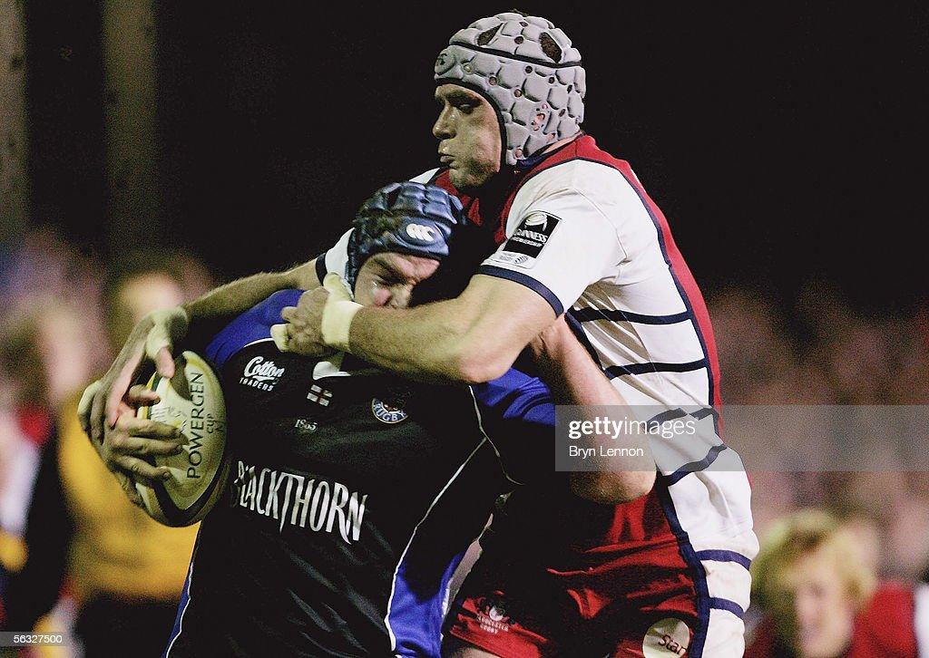 Powergen Cup: Bath v Gloucester : News Photo