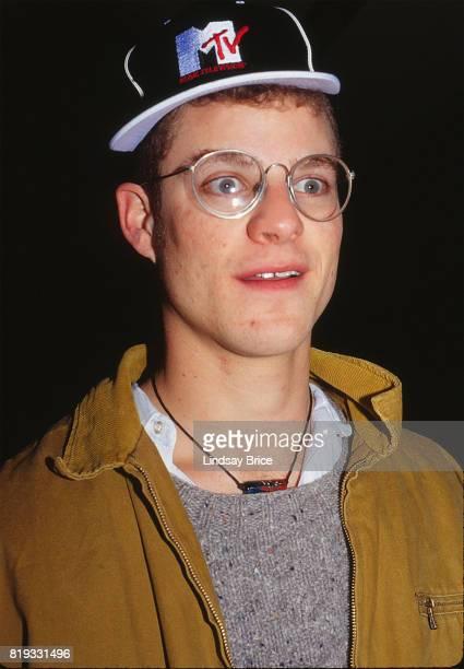 Matt Stone makes goofy face for a portrait at Sundance Film Festival in January 1994 in Park City Utah
