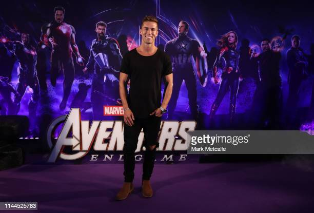 Matt Suleau attends the Sydney screening of Avengers End Game at Hoyts Entertainment Quarter on April 23 2019 in Sydney Australia