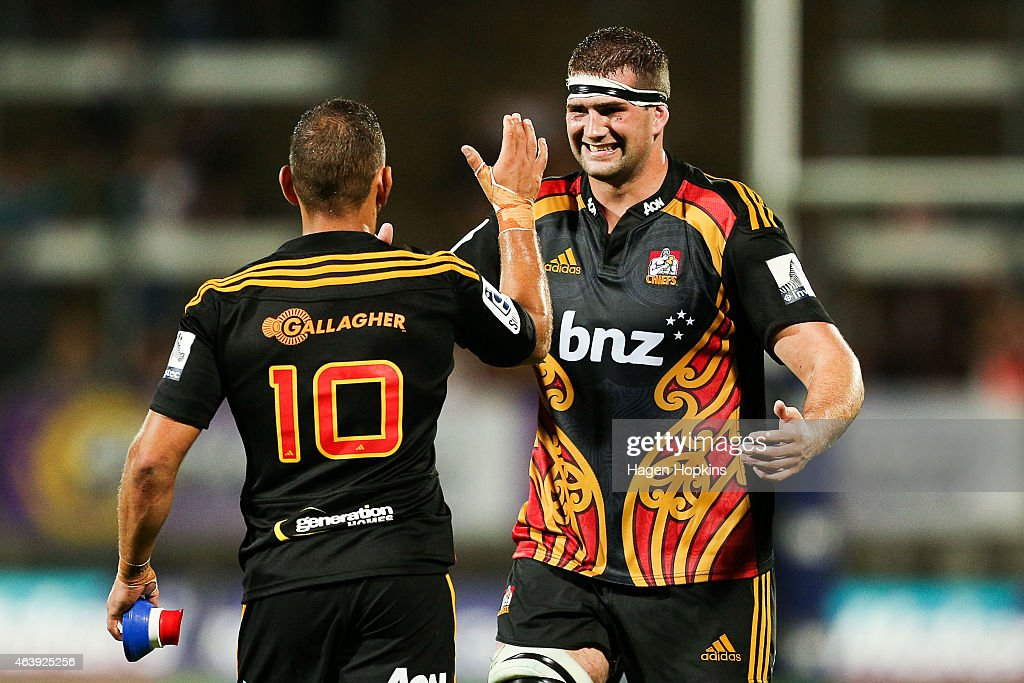 Super Rugby Rd 2 - Chiefs v Brumbies : News Photo