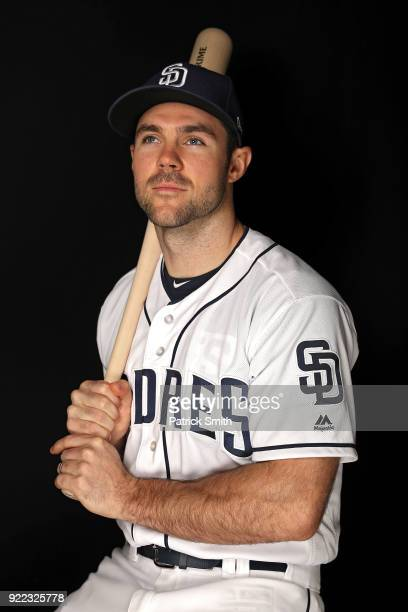 Matt Szczur of the San Diego Padres poses on photo day during MLB Spring Training at Peoria Sports Complex on February 21 2018 in Peoria Arizona