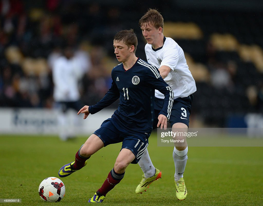 England U19 v Scotland U19 : News Photo