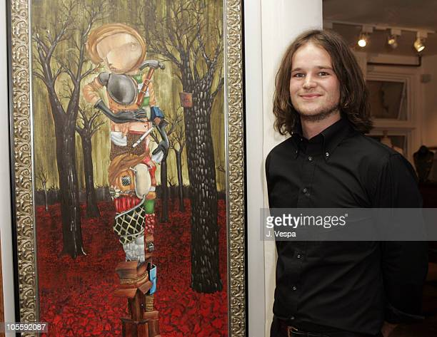 Matt Taylor during Kaviar Kind Party for Jodi Guber and Matt Taylor September 28 2005 at Kaviar Kind in West Hollywood Californina United States
