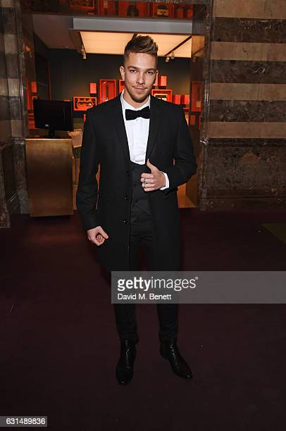 Matt Terry attends a drinks reception ahead of the press night performance of The English National Ballet's 'Giselle' at St Martins Lane on January...