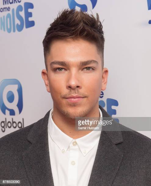 Matt Terry attends Global's Make Some Noise night at Supernova on November 23 2017 in London England