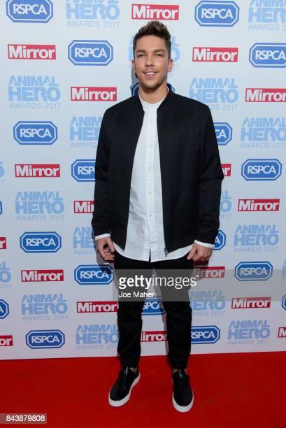 Matt Terry attends the Animal Hero Awards 2017 at The Grosvenor House Hotel on September 7 2017 in London England